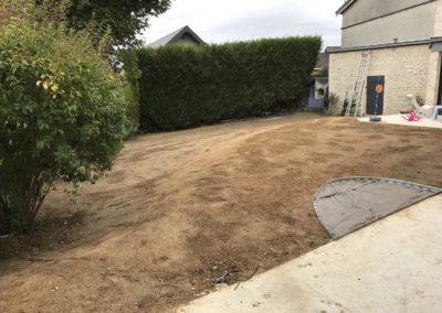 planter gazon (pelouse) à Caen (Calvados -14)