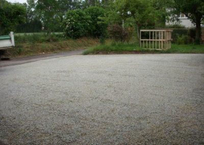 Allées, parkings, cours gravillonnés à Caen (Calvados -14)