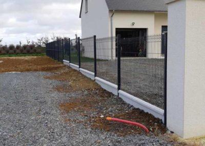 installation et pose de panneaux rigides (clôtures grillagées) à Caen (Calvados-14)