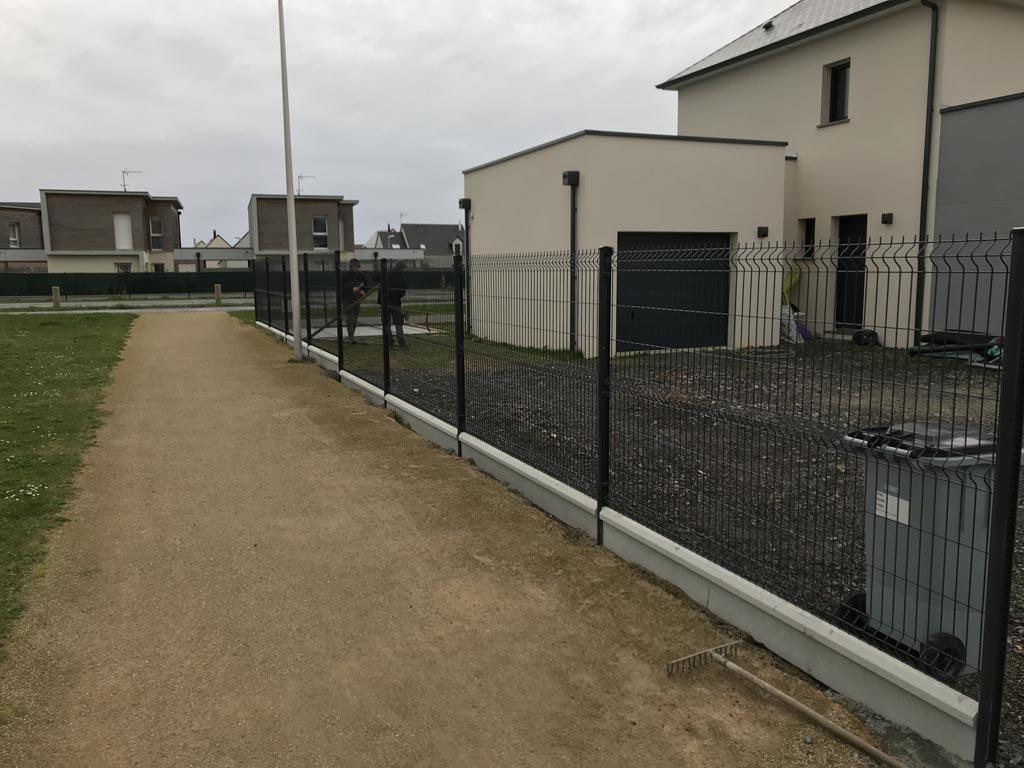 installation et pose de clôtures grillagées à Caen (Calvados-14)