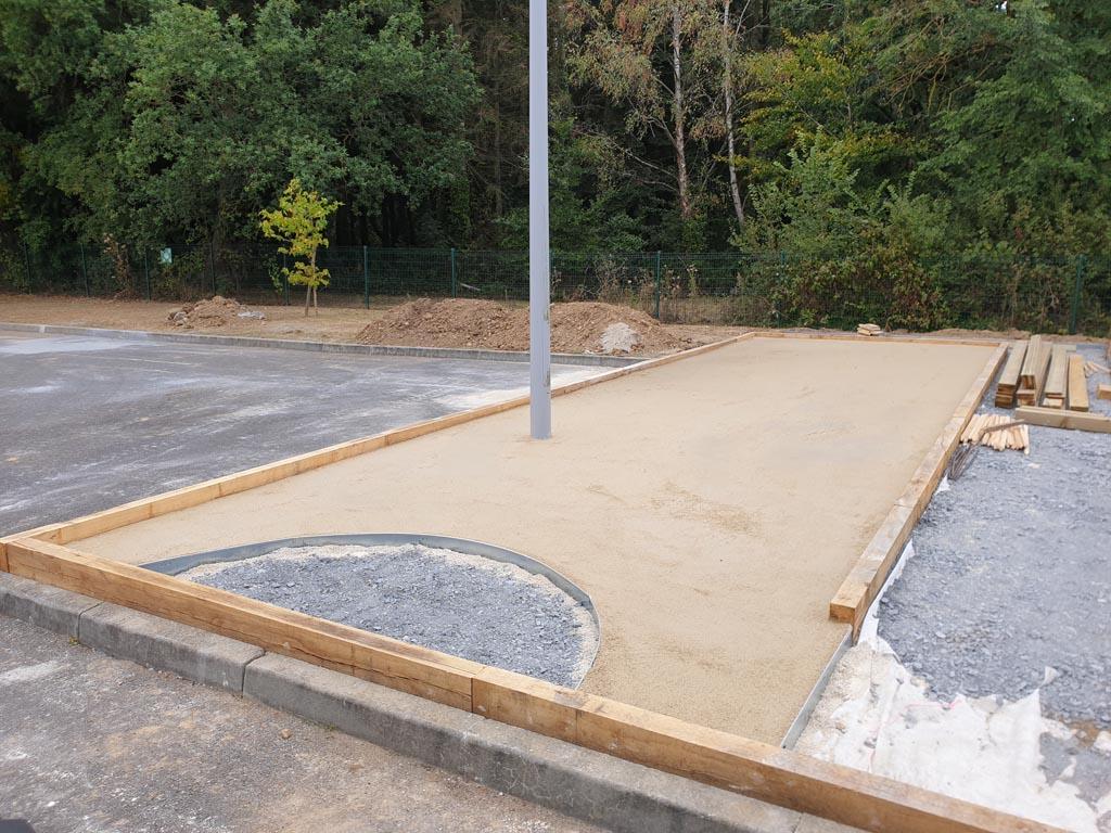 construction d'allées, cours et parkings gravillonnés à Caen (Calvados -14) - AVAE Paysage